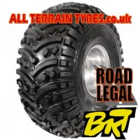22X11.00-8 43J (4 Ply) BKT AT108 Argocat ATV Tyre 'E' Marked