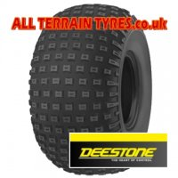 25x12.00-9 4 Ply Deestone D929 Knobbly Tyre