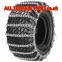 20X8.00-8 Set of Snowchains For 2 x Tyres
